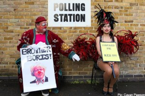 Voting clowns